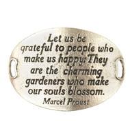 Lenny and Eva Trousseau Sentiment - Let us be grateful - Silver