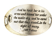 Lenny and Eva Trousseau Sentiment - And he took her in his arms - Silver