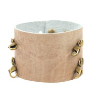 Lenny and Eva Wide Cuff in Rose Dust