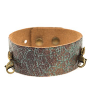 Lenny and Eva Thin Cuff in Distressed Turquoise