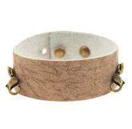 Lenny and Eva Thin Cuff in Rose Dust