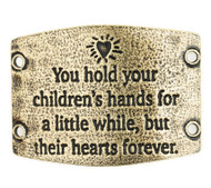 Lenny and Eva You hold your children's hands... - Brass