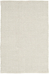 Dash and Albert Beatrice Grey Woven Cotton Rug