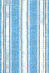 Dash and Albert Sail Stripe Blue Woven Cotton Rug