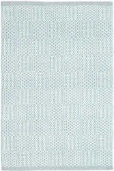 Dash and Albert Bonnie Blue Woven Cotton Rug