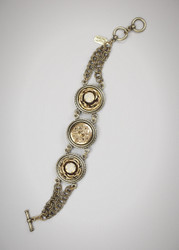 Grandmother's Buttons Sandringham Bracelet