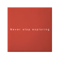 Petal Lane Never Stop Exploring Canvas Magnet