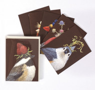 Kitchen Paper - Vicki Sawyer Chocolate Background Box Set, 6 cards