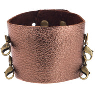 Lenny and Eva Wide Cuff in Bronze