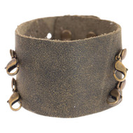 Lenny and Eva Wide Cuff in Olive