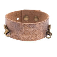 Lenny and Eva Thin Cuff in Aged Chestnut