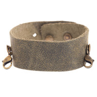 Lenny and Eva Thin Cuff in Olive