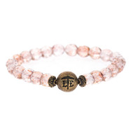 Lenny and Eva Beaded Bracelet - Pink Mist