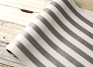 Hester and Cook Silver Classic Stripe Runner