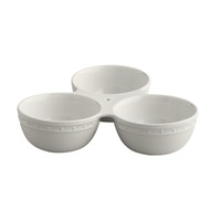 Nora Fleming Triple Dish, Currently on Back Order, Available Mid June