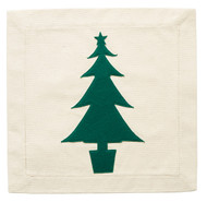 Nora Fleming Pillow Panel - Christmas Tree