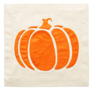 Nora Fleming Pillow Panel - Pumpkin
