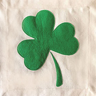 Nora Fleming Pillow Panel - Shamrock