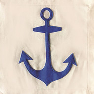 Nora Fleming Pillow Panel - Anchor