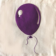 Nora Fleming Pillow Panel - Purple Balloon