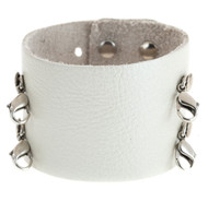 Lenny and Eva Wide Cuff in Pearl