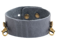 Lenny and Eva Thin Cuff in Dove Gray