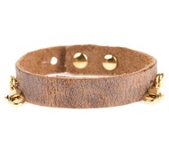 Lenny and Eva Refined Classic Cuff in Aged Chestnut