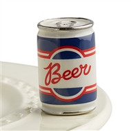 NEW!  Nora Fleming Mini-Beer Can
