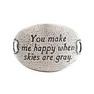 Lenny and Eva Trousseau Sentiment - You make me happy when skies are gray - Silv