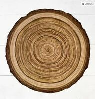 Hester and Cook - Wood Slice Die-Cut Paper Placemat Sheets
