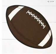 Hester and Cook - Football Die-Cut Paper Placemat Sheets