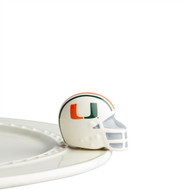 NEW:  Nora Fleming Miami Helmet Mini