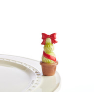 Nora Fleming Red Topiary Mini