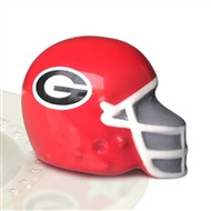 NEW!  Nora Fleming U Georgia Helmet Mini