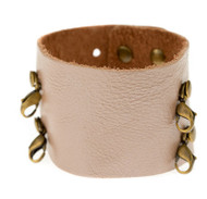 Lenny and Eva Wide Cuff in Metallic Blush