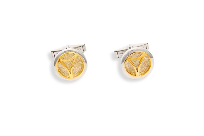 Classic Bass Hoop Cuff Links