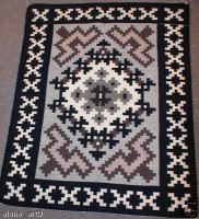 Navajo Indian Rug Two Grey Hills Shirley Yazzie