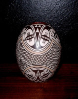 Pottery Hopi Burel Naha PH481