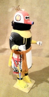 Kachina Sip-Ikne Zuni Warrior Kachina 1950's
