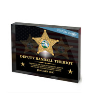 CUSTOM RECOGNITION ACRYLIC BLOCK (NRABP) - PERSONALIZED