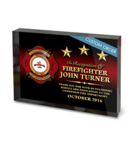 CUSTOM ACRYLIC BLOCK RECOGNITION AWARD (WPABGU) - PERSONALIZED