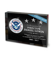 CUSTOM ACRYLIC BLOCK RECOGNITION AWARD (WPABGA) - PERSONALIZED