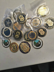 10 PACK OF CHALLENGE COINS CHEAP SHIPPING