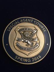 Georgia Bureau of Investigation Special Agt COIN RARE