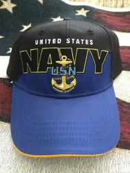 NAVY & ANCHOR ROYAL Two Tone HAT