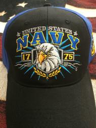 NAVY 1775 EAGLE FACE & ANCHOR HAT!