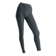 Sock Café Body PK1 Seamless Full Length Footless Tights - Charcoal