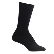 Bearfoot Women's PK3 Cotton Crew Socks - Black