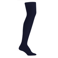 Bearfoot Girl's PK1 70D Nylon Opaque Tights with Cotton Gusset - Standard Navy