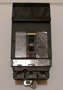 3 Pole 20 Amp Square D I Line Breaker Power Pact Hja36020